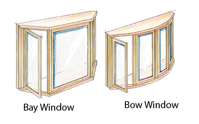 Bay and Bow Window