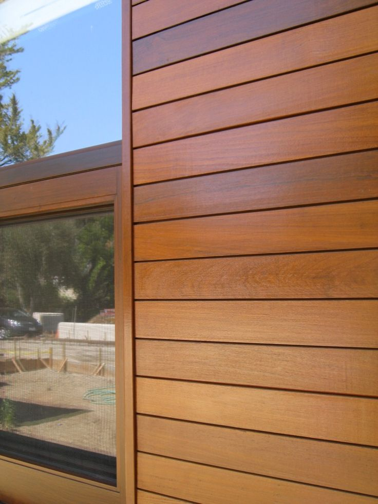 Wood Strip Siding