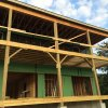 Framing and roofing project at a prestigious children's camp
