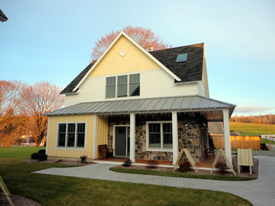 wells custom residential siding